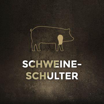 Schulter vom Schwein