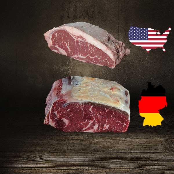 Offizielle Fleischqualitäten - Vergleich USA vs. Deutschland