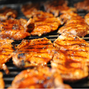 Kachelfleisch grillen