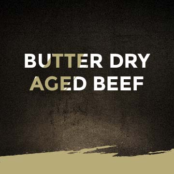 Butter Dry Aged Beef