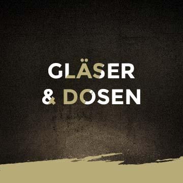 Gläser & Dosenwurst