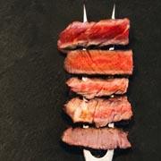 Garstufen von Rindfleisch