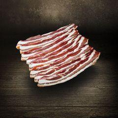 Bacon gesmoked | Bauchfleisch geräuchert| geschnitten | Deutsches Landschwein | 180g