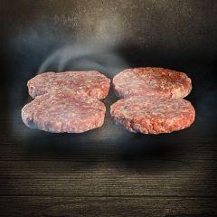 Smoked Burger Patties Rind 3301 001 Hamburger Patties aus kaltgeräuchertem Fleisch Der Ludwig bestellen kaufen