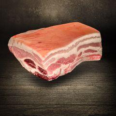 Dry Aged Schweinebauch vom Schwäbisch Hällischen Landschwein hier bestellen und kaufen Metzgerei DER LUDWIG