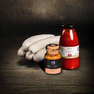 Currywurst First Aid Kit - Wurst, Tunke und Gewürz - Currywurst First Aid Kit hier bestellen