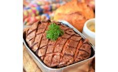 Feiner und grober Fleischkäse