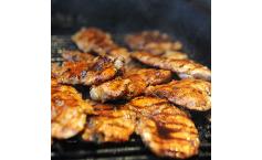 Kachelfleisch vom Grill