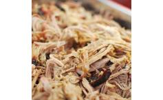 Pulled Pork mit süßer Senfsauce aus Carolina