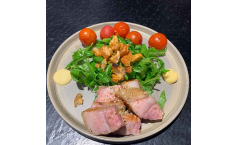Pork| Feuertomate | Rucola