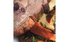 Schweinebraten vom Grill mit Bourbon-Ahorn-Mob
