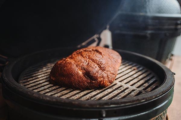 Pulled Pork auf dem Grill