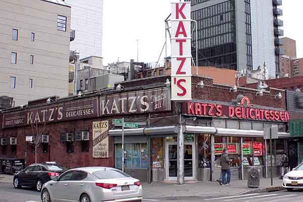 Katz Delikatessen in New York