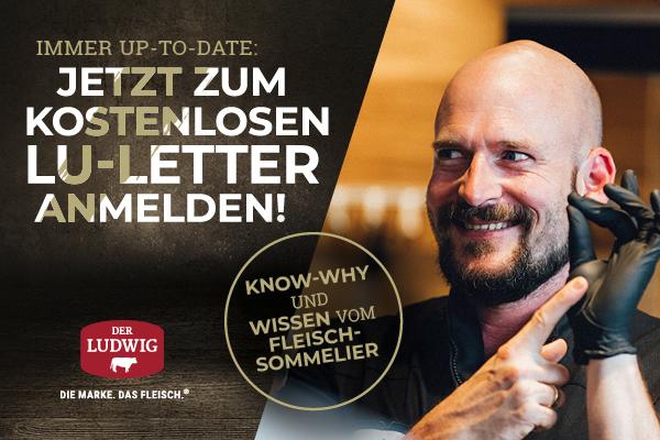 Jetzt zum Ludwig-Newsletter anmelden!