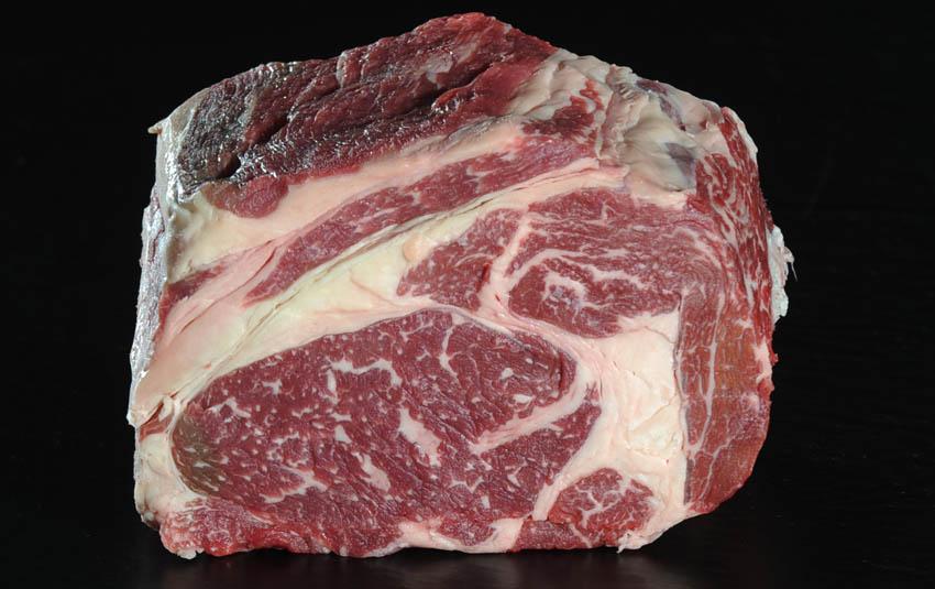 Dry Aged Rib Eye Steak von Der Ludwig
