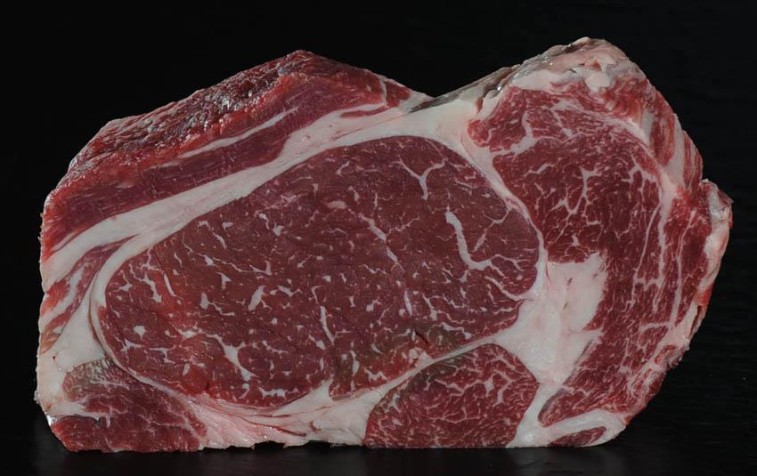 Black Label Rib Eye - ein Steak wie ein Kunstwerk
