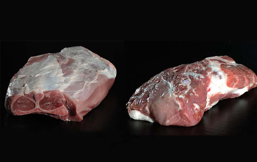 Pulled Pork Schulter (mit Knochen) und Nacken von Der Ludwig