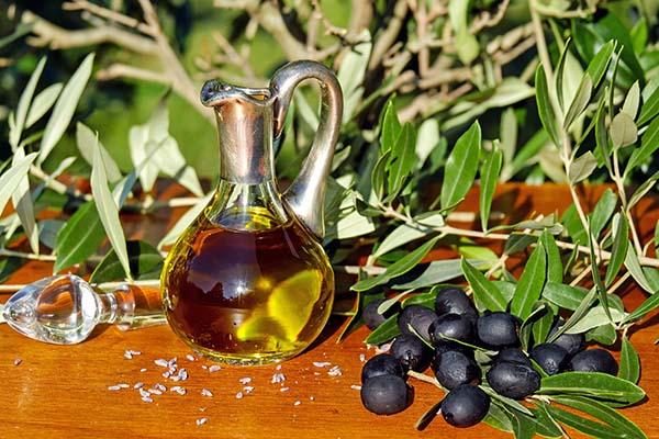 Hochwertiges, natives Olivenöl