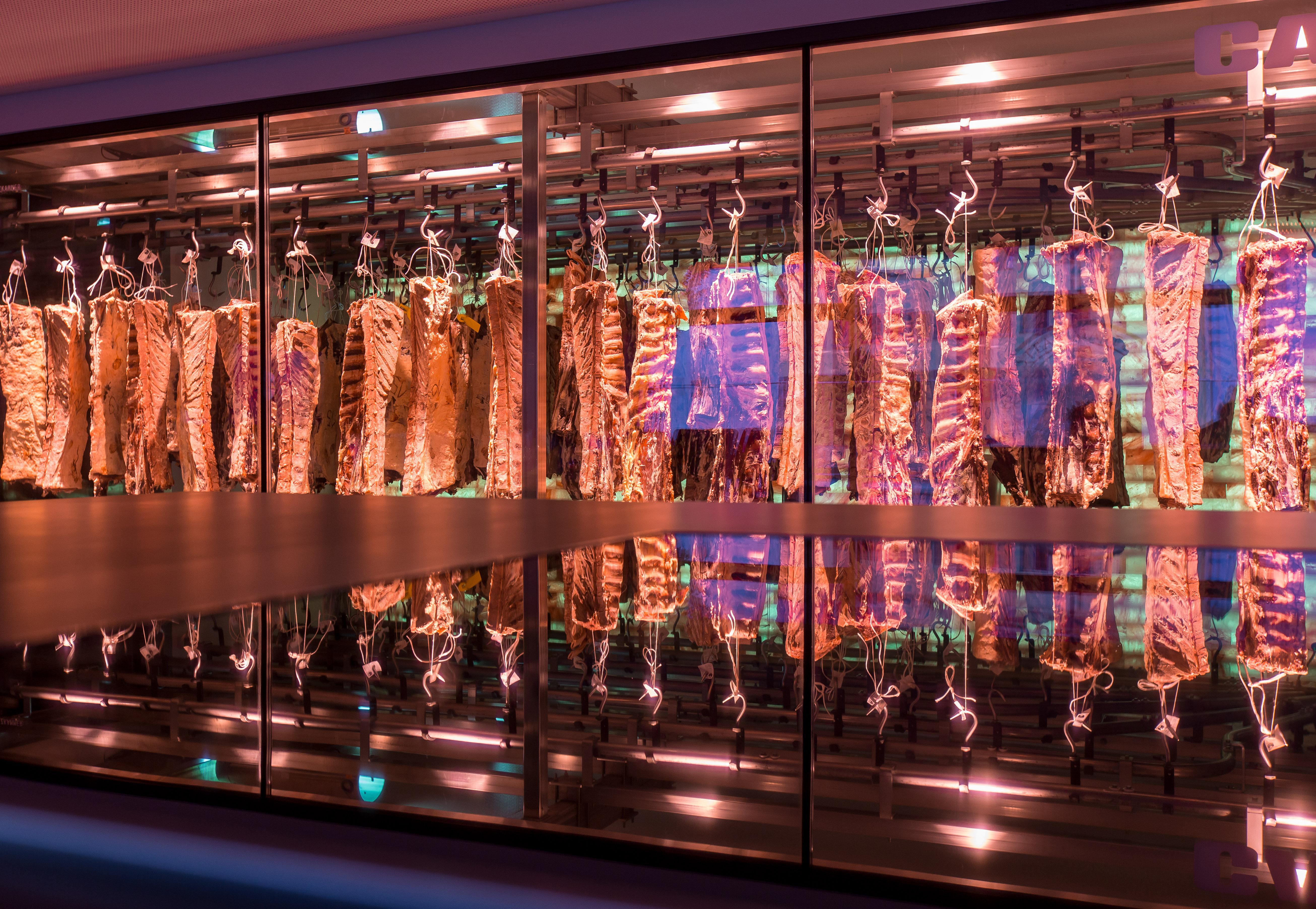 Die Steakschaft - Fleischerlebniszentrale mit der Carnothek - der Salzreifekammer