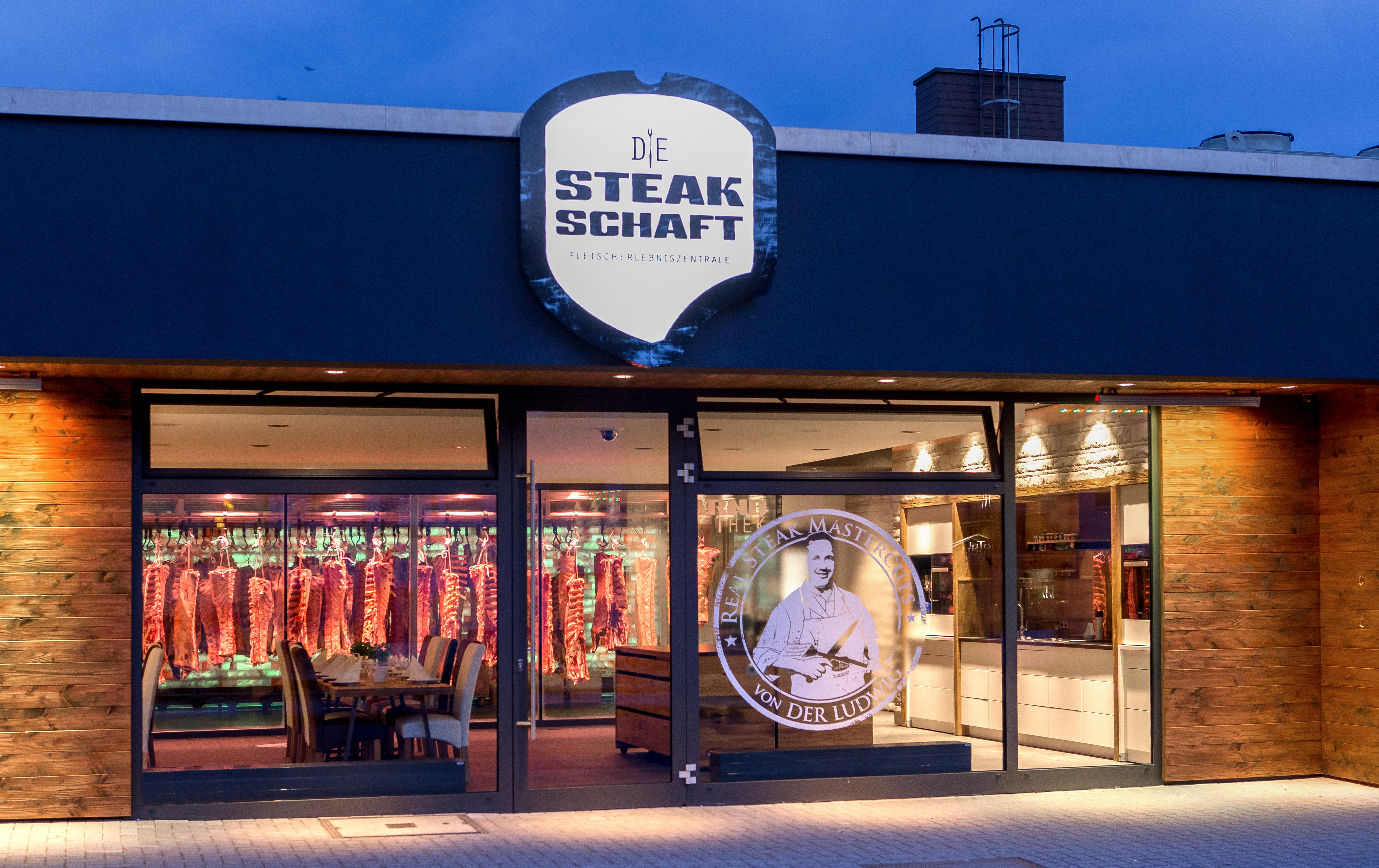 Die Steakschaft - Fleischerlebniszentrale Aussenansicht